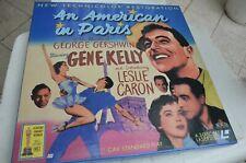 AN AMERICAN IN PARIS Gene Kelly 3X Laserdisc EUROPE POSTAGE mmoetwil@hotmail.com