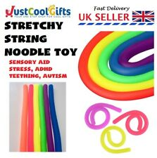 STRETCHY FIDGET TEETHING STRING TANGLE TOY RELAX ANXIETY STRESS ADHD SENSORY AID