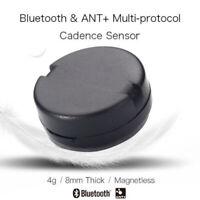 Inteligente Bluetooth Hormiga + Bicicleta Sensor Cadencia Impermeable Doble-Cara