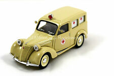 FIAT 1100 AMBULANCE CROIX ROUGE 1947  1/43 BRUMM MAI17SP