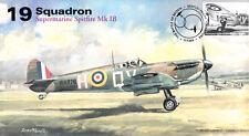 AV600 WWII 19 Squadron WW2 Supermarine Spitfire RAF Battle of Britain 2015 cover