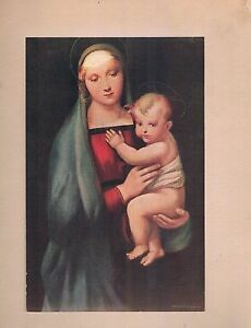 Instructor Picture Series #61 Madonna  del Granduca by Raphael F.A. Owen