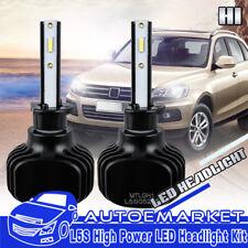 H1 LED Headlight Bulb CSP Chip Conversion Kit For Mini Cooper VW Beetle Low Beam