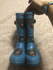 Joules Rain Boots Size 11 Boys Bears Blue
