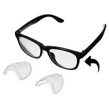 1 Paar Seitenschutz für Brillen Brille aus Kunststoff Set in transparent DE