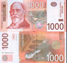 SERBIA - 1000 Dinara ISSUE - 2003 - UNC - 44b - Kori Udovički RARE