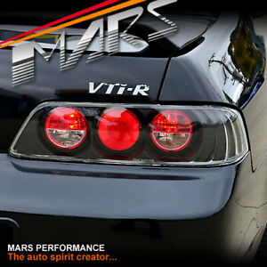 JDM Black Altezza Tail Lights for HONDA PRELUDE COUPE 97-01 VTi-R ATTS SI