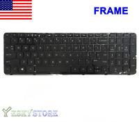 GENUINE HP Pavilion 15-n 15-e 15-g 15-r Keyboard 719853-001 749658-001 Frame!
