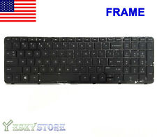 GENUINE HP Pavilion 15-n 15-e 15-g 15-r Keyboard 719853-001 749658-001 Frame!