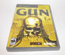 Gun (Microsoft Xbox, 2005) Complete CIB Good Shape