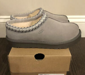 New UGG Women's Size 8 Tasman Slipper SEL Seal Gray