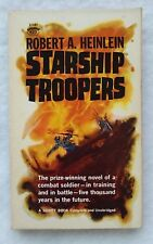 Starship Troopers by Robert A. Heinlein (PB, 1961, Signet D1987) SF Classic 1st!