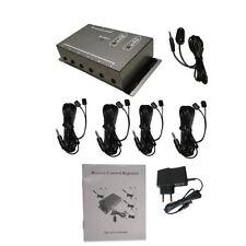 USB IR Infrarot Remote Extender Emitter Empfänger Repeater Adapter Steuern Box