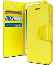 iPhone 12 Mini Genuine MERCURY Goospery Sonata Yellow Flip Case Wallet Cover
