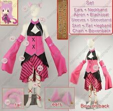 VOCALOID 2 Megurine Luka Alice In Musicland Cosplay Costume Custom Any Size