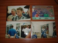 3 ORIGINAL PHOTOGRAPHS AND TICKET FROM SILVERSTONE 1996 BRITISH GRAND PRIX
