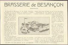 25 BESANCON LA BRASSERIE JEAN GANGLOFF 1923