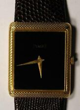 Piaget 18K Yellow Gold Thin Men's Dinner Watch 9152 - Very Rare Watch!