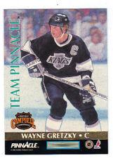 97-98 Team Pinnacle Wayne Gretzky / Eric Lindros #5