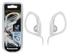 Panasonic In Ear Clip Type Water Resistant Sports Gym Headphones RP-HS34 - White