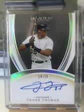 2020 Immaculate Frank Thomas Auto /15