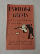 Unwelcome Guests and How To Get Rid of Them by Richard Salmon Vintage Pamphlet