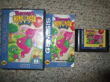 Barney's Hide & Seek Game  (Sega Genesis, 1993) Complete