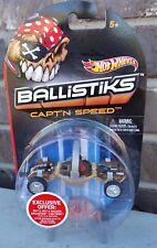 Hot Wheels BALLISTIKS Capt'N Speed RARE !! Brand New in Package