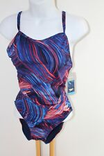 Speedo Endurance + Size 10  One piece swimsuit NWT NEW Competitive