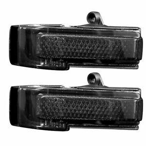 RECON 264244AMBK Ford F150 15-19 Smoked-Amber illumination Mirror Light LED Kit