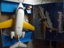 Playmobil avion jet aero réf 3185 en boite plane in box