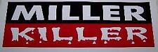 "Lincoln Welders Miller Killer Decals, 1-Pair Of  12"" x 4"" Decals"