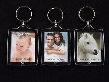 Acryl Schlüsselanhänger für Fotos, Bilder.. Werbung Hotel Pension Mengen wählbar