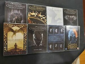 GAME OF THRONES THE COMPLETE SERIES SEASONS 1-8 DVD 38 DISC BOX SET 38-DISC