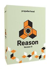 Propellerhead Reason 9.5 Full Boxed Retail Version w/VST UPGRADE to 10 FOR FREE