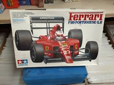 Tamyia Ferrari F189 Portuguese G.P. Model Kit 1/20