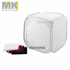 "16"" 40cm Softtent Photo Studio Soft Box Cube Lighting Light Tent Box + Backdrops"