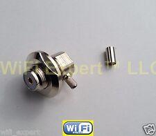 UHF Female SO239 Right Angle Bulkhead RG58 RG142 LMR195 RG400 RF Crimp Connector