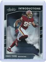 Chase Young, 2020 Panini Absolute Football Card #117 / I-CY NFL Washington Team