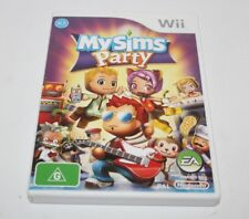 NINTENDO WII MY SIMS PARTY GAME COMPLETE