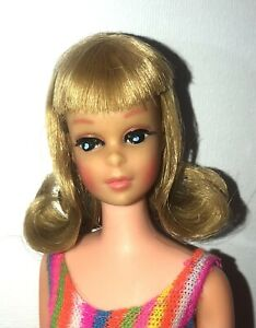 VTG OOAK Japanese Francie Barbie Doll #1170 Blonde TNT Twist 'n Turn By Niccole