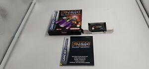 Jeu Nintendo Game Boy Advance GBA F-Zero Maximum Velocity complet