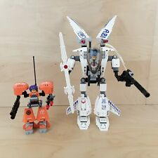 2 x LEGO EXO-FORCE 7700 STEALTH HUNTER & 7708 UPLINK 100% COMPLETE FREE P&P