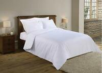 100% Cotton 400 Thread Count Satin Quality Duvet Cover  Set King & Super King