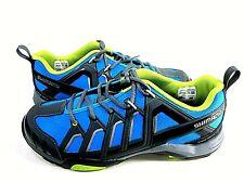 Shimano Men's Sh-MT34B Blue Biking Shoes Us Size 9.7, EUR 44 Medium New In Box
