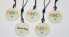 5 NFC smart tags avec NXP ntag 203 CHIP-blanc-pour tous les périphériques NFC!!!