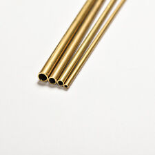 Brass Tube Pipe Tubing Round Inner 2mm 3mm 4mm 5mm Long 300mm Wall 0.5mm =T0CA