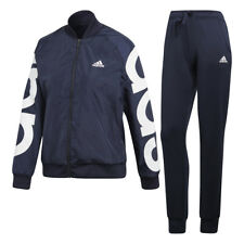 Adidas Tuta Unisex 3056 Cd6380 WTS Wvbomber Blu/bianco S Blu