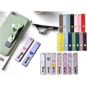 Self-adhesive Finger Grip Strap Phone Holder Kickstand for iPhone iPad Tablets