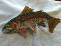 """2019,**For Sale**, """"Rainbow Trout"""", 1/3 Curved-15 Inches, Spring Colors*****"""